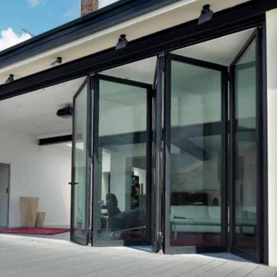 Reynaers Cf 77 Aluminium Folding Doors Livingwood